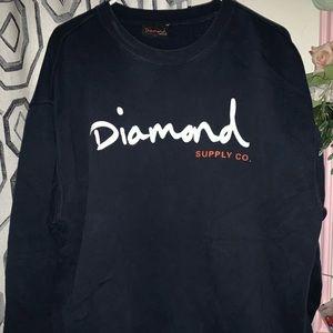 DIAMOND SUPPLY CO CREWNECK